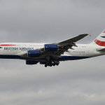 British Airways A380-Manchester